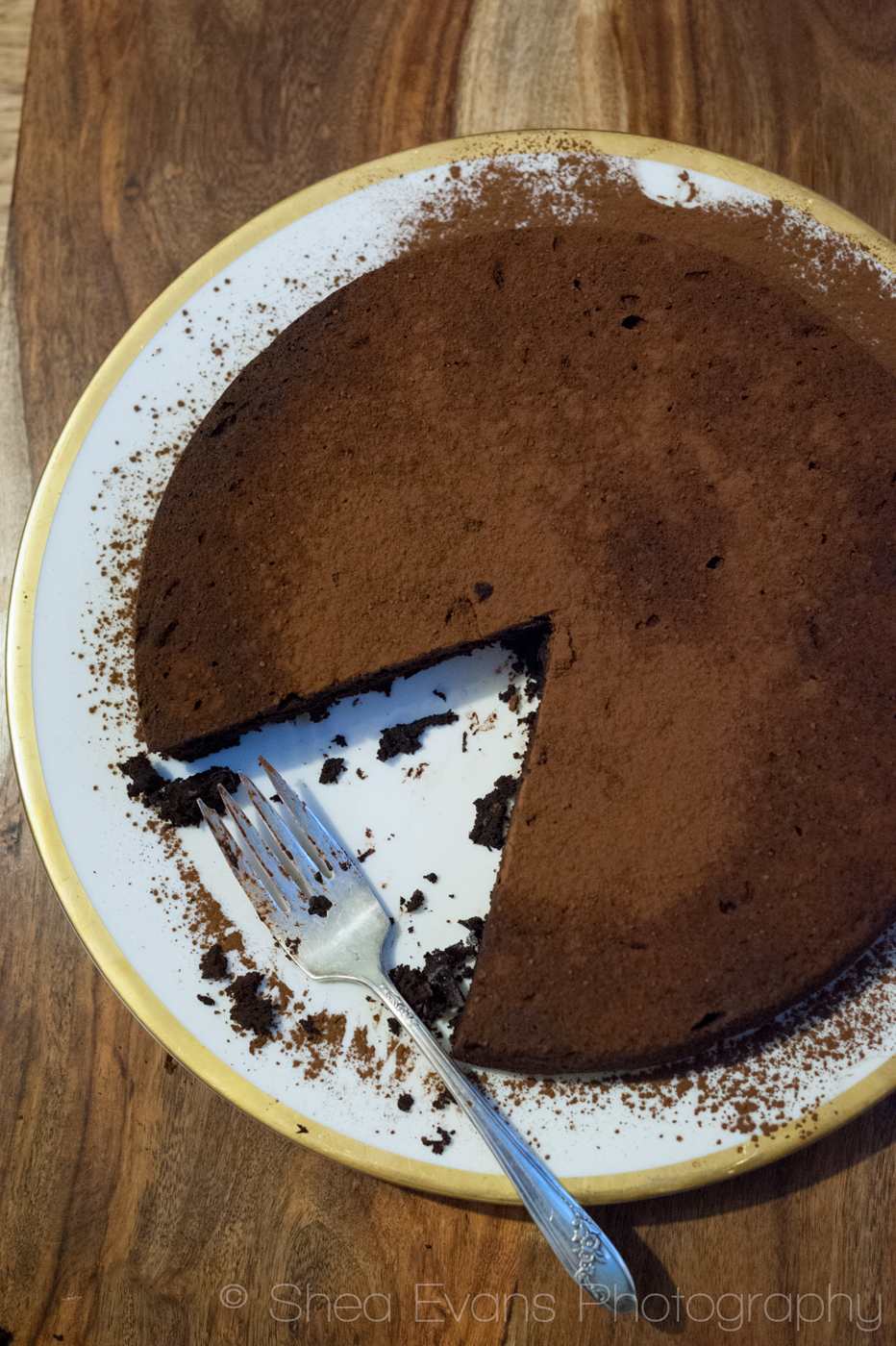 Flourless Chocolate Espresso Tart | Cooking With Hoover