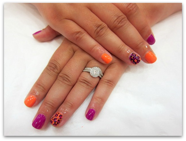 Fun Nail Art at Tropical Popical