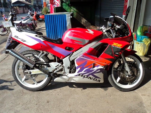 Modifikasi Honda NSR 150 RR