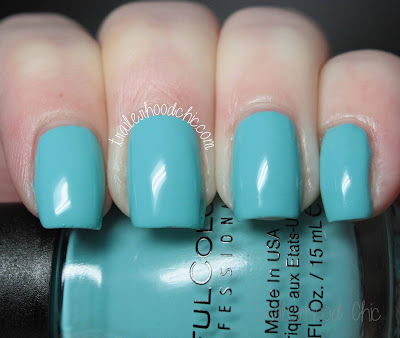 sinful colors a class act review swatch summer scool