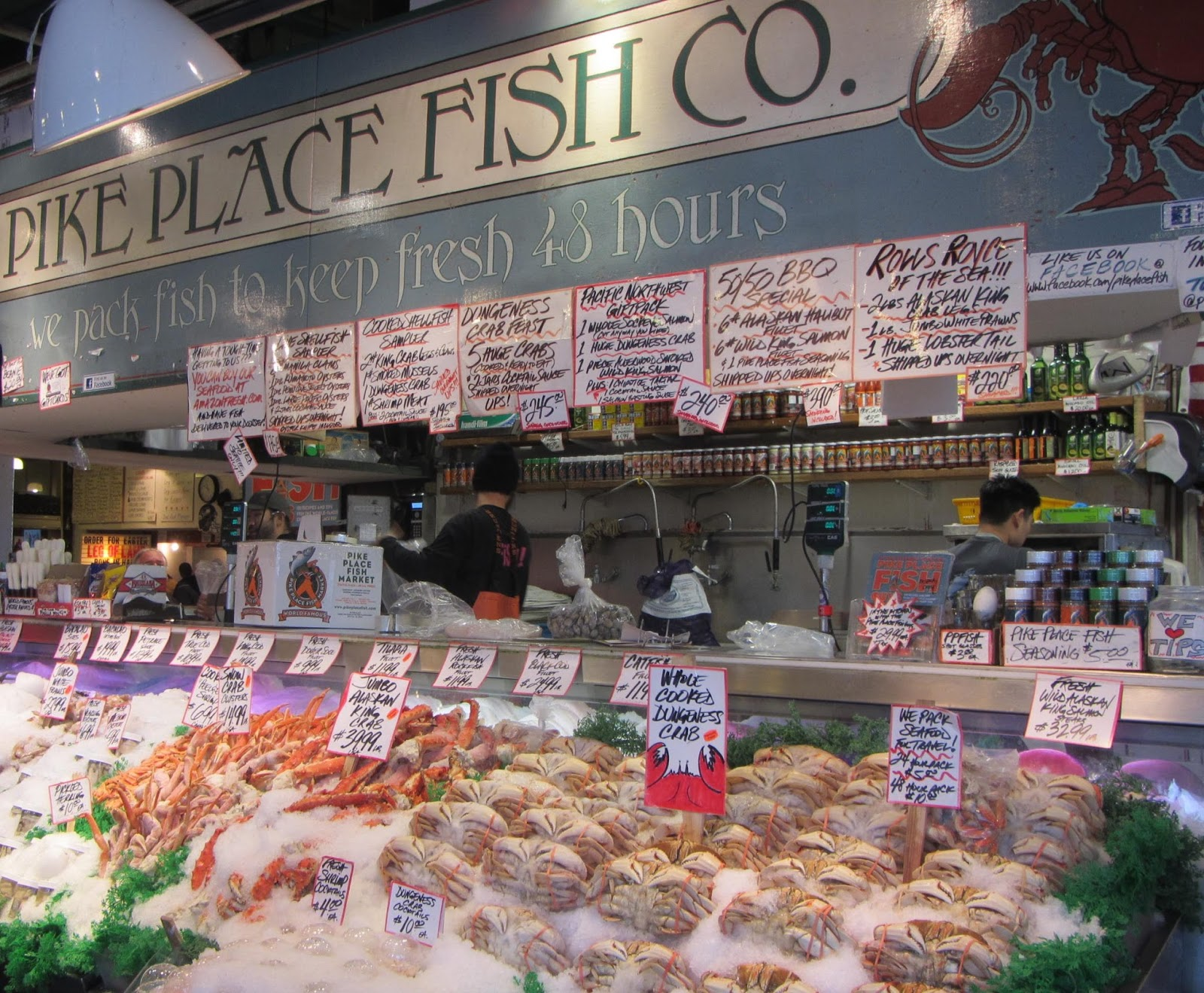 Moments of delight anne reeves seattle pike place for The fish place