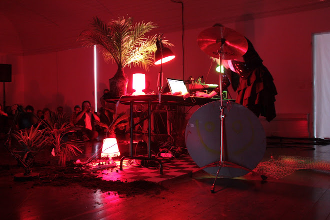 Performance/Installation at Den Frie Centre of Contemporary Art, CPH. 2012