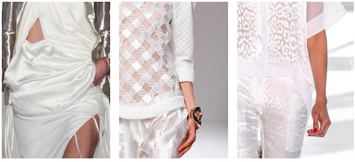 altuzarra, balmain, antonio berardi, olivier rousteing, spring 2014, fashion, all white, runway