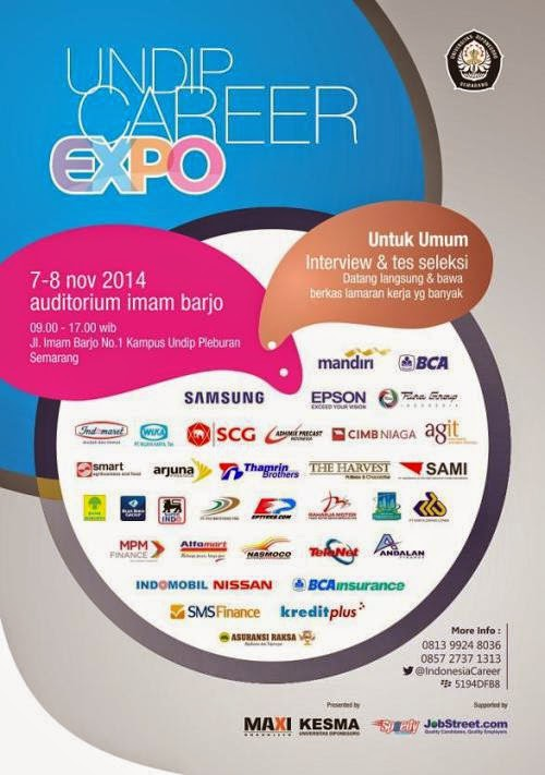 Undip Career Expo November 2014