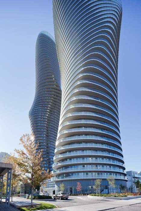 Future architecture mad architects absolute towers canada for Architecture firms mississauga