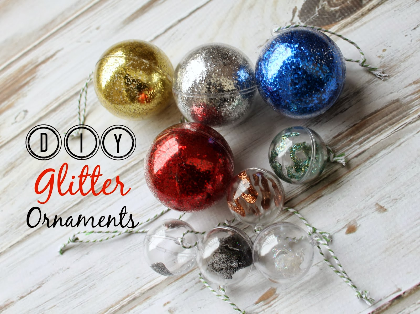 how to make glitter ornaments kid friendly craft tutorial orientaltrading