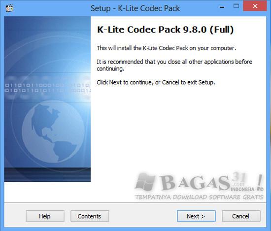 K-Lite Codec Pack 9.8.0 Full 2