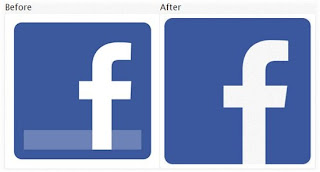facebook main old and new logo