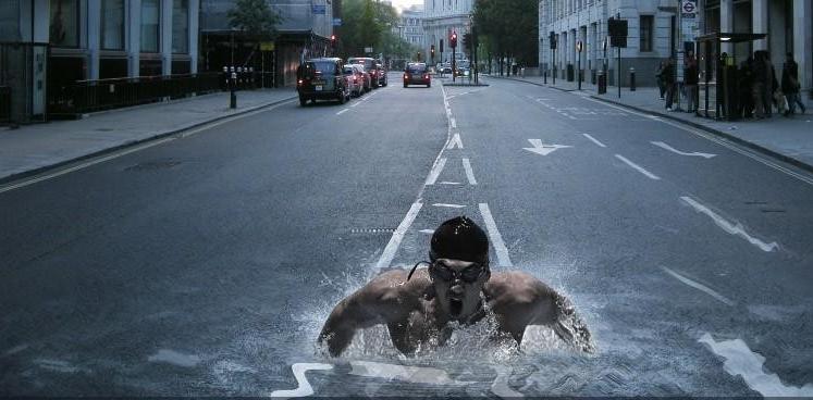 Consultorio de Monstrua 7 nadador carretera