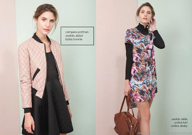 Camperas invierno 2015 moda Las Pepas.