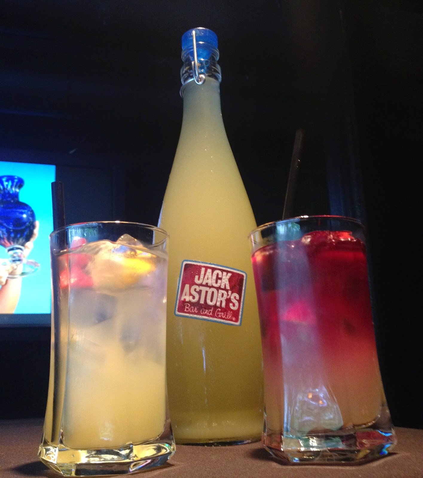 Jack Astor's Sangria at Zack & Jack's $52,000 Potato Salad Party