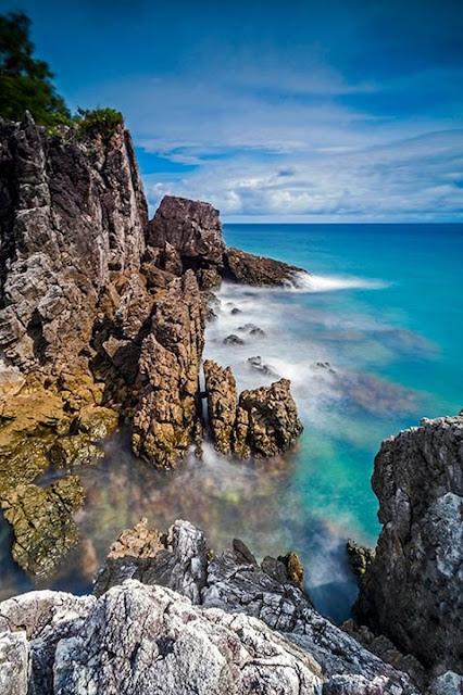 Pantai Taraujung Pamboang Hendra Arieska Putra