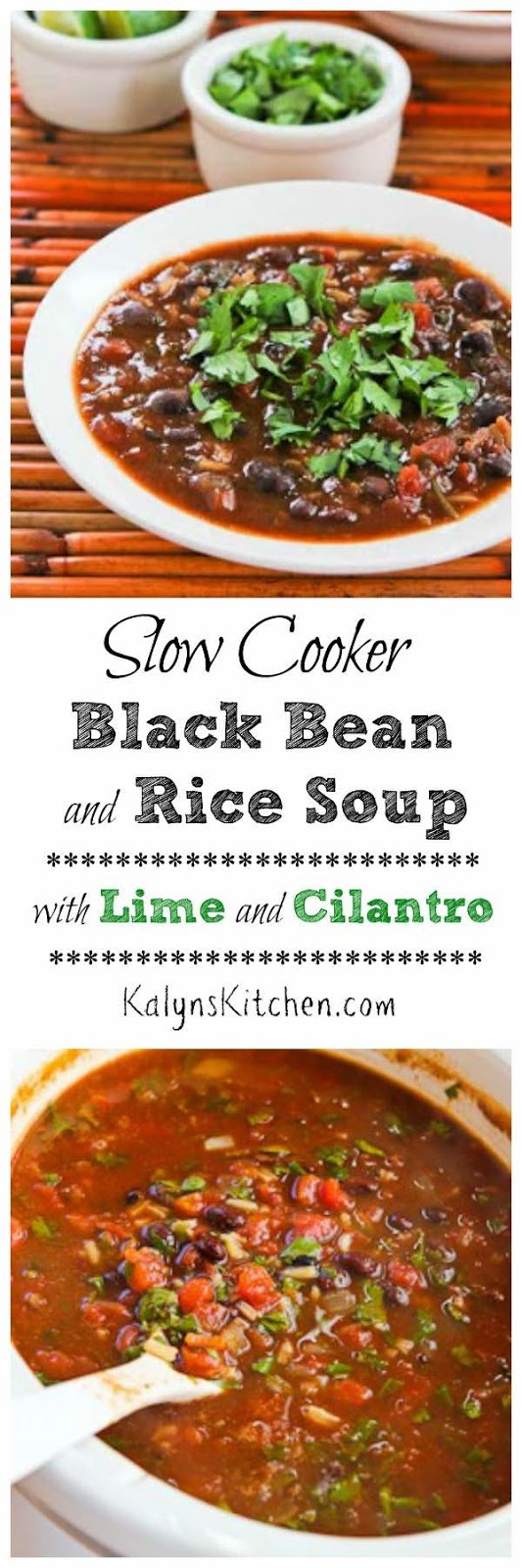 Kalyn's Kitchen®: Slow Cooker Vegetarian Black Bean and ...