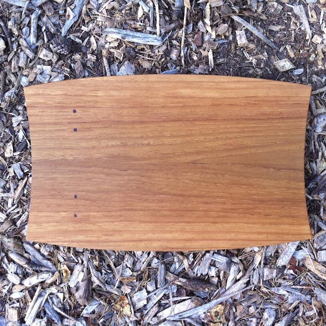 Darrick Rasmussen, cutting board, teak