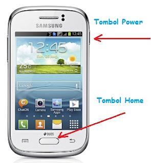 Cara Mudah Screenshot di HP Samsung Galaxy Young Tanpa Aplikasi
