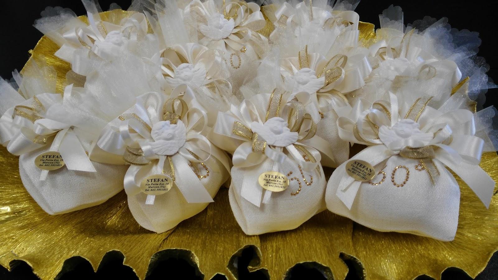Favoloso bombonierestefan: Bomboniere Nozze d'oro per i 50 anni di Matrimonio DX81