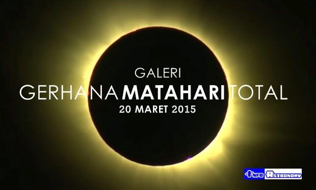 GALERI: Cantiknya Gerhana Matahari Total 20 Maret 2015
