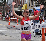 Ali Williams 2012 Cow Harbor and CIM Champion