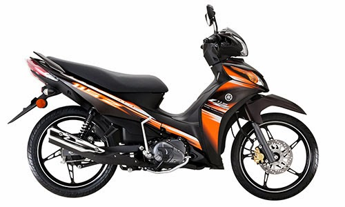 yamaha lagenda 115z fuel injection 2013 orange warna oren