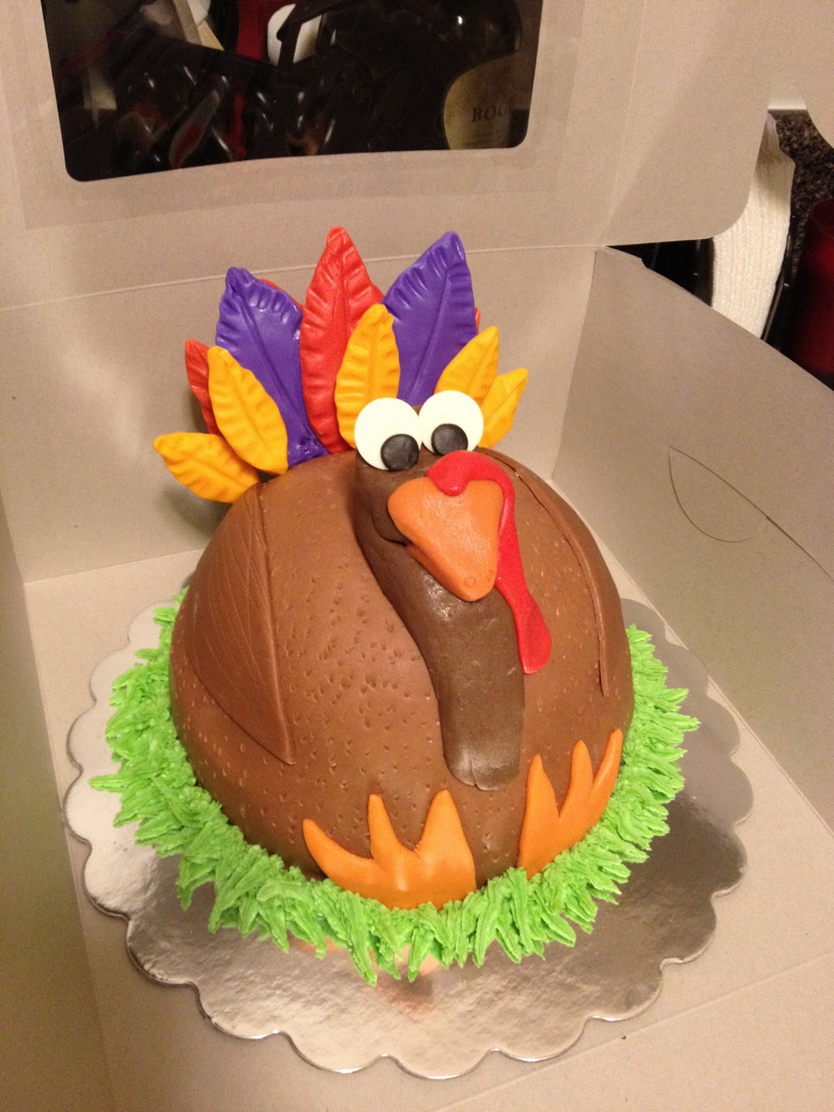 Cute Cake Ideas For Thanksgiving : Sugar and Spice and Everything Iced: December 2011