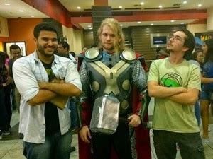 Thor (Foto: Alan Tiago Alves/G1)