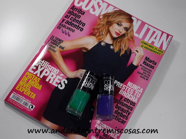 Regalo Revista Cosmopolitan Octubre 2015
