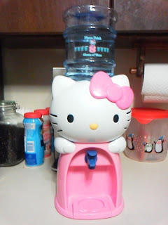 Hello Kitty desk water cooler