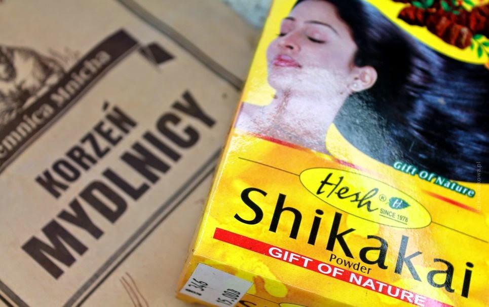 opakowanie mydlnicy i shikakai