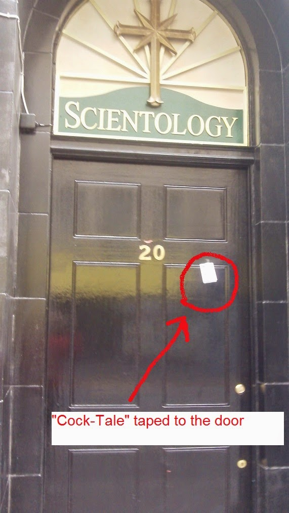 scientology prank