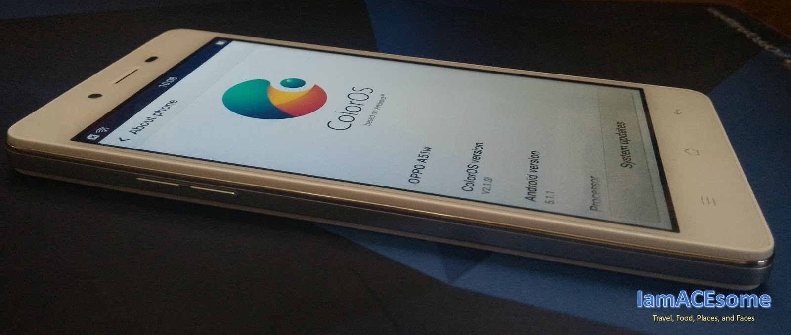 New Oppo Mirror 5 A Spark Of Brilliance Iamacesome 16gb Under The Hood Is Coloros 21 Latest Os