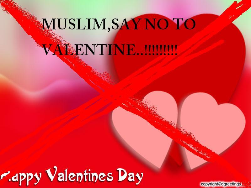 Hukum Merayakan Hari Valentine bagi Umat Islam