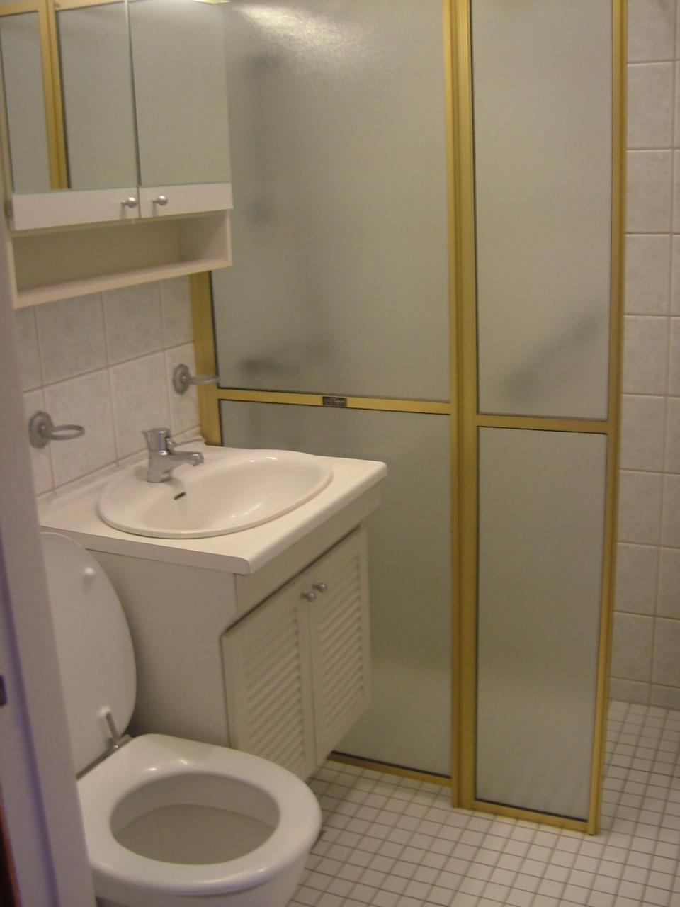 Innredning Små Bad: Få mye ut av et lite bad byggmakker. Et lite ...