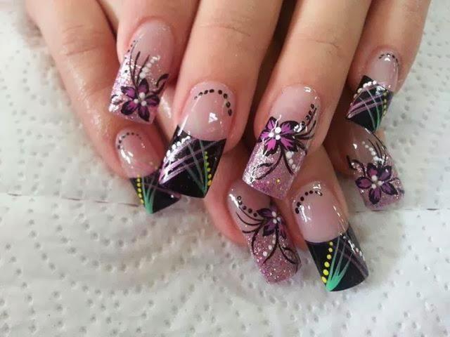 Uñas decoradas - Diseños de uñas - Decoración de uñas con gel ...