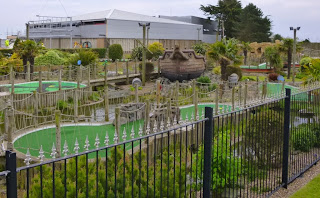 Jolly Roger Adventure Golf course on Grand Parade in Skegness, Lincolnshire