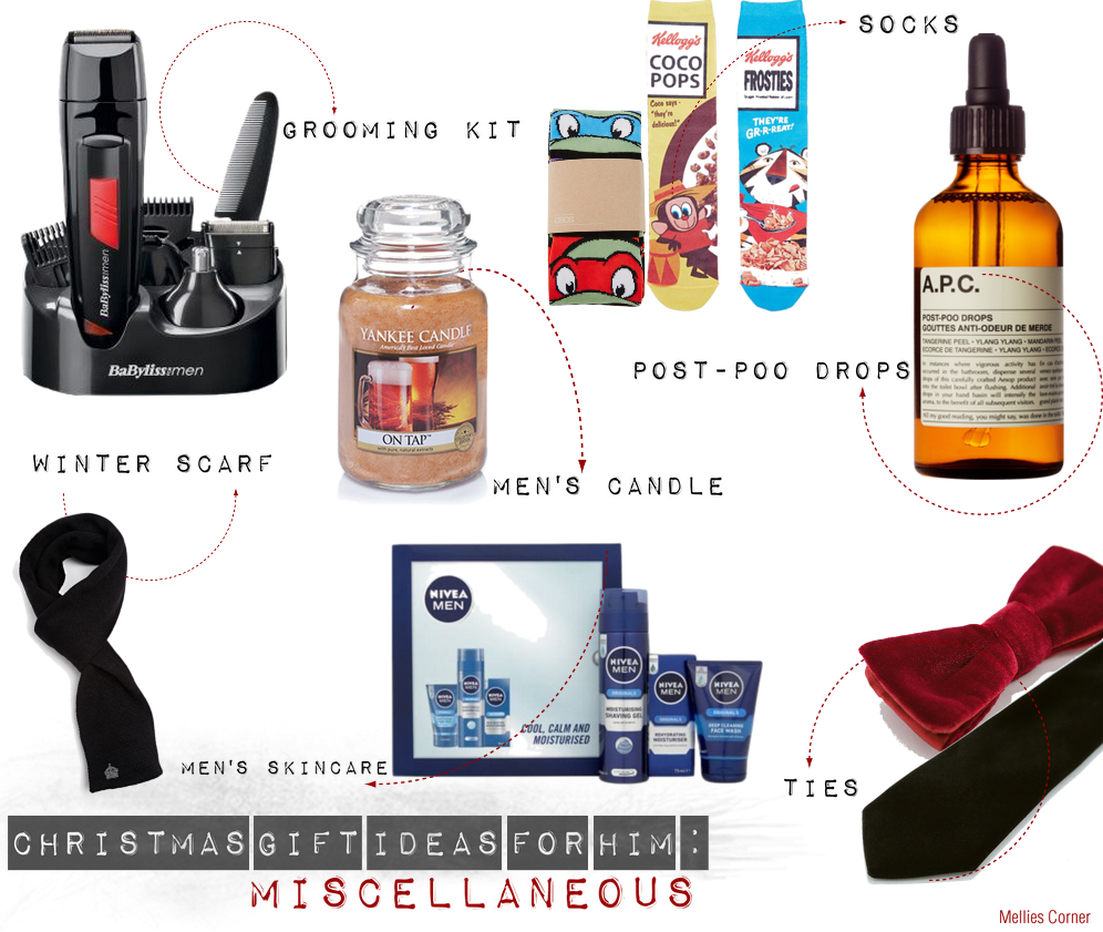 Christmas Gifts £25 & Under : For Him | MELLIES CORNER