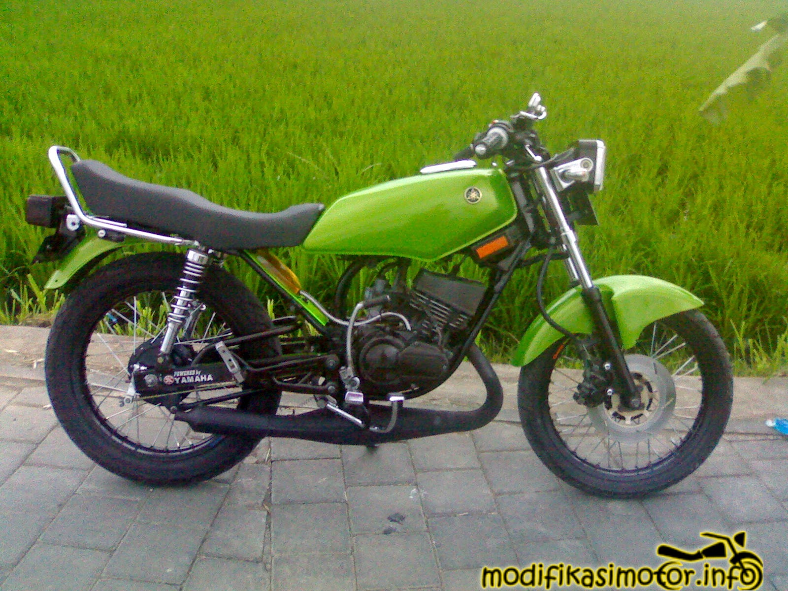 Lihat Foto Modifikasi Motor Rx King  Modif Yamaha
