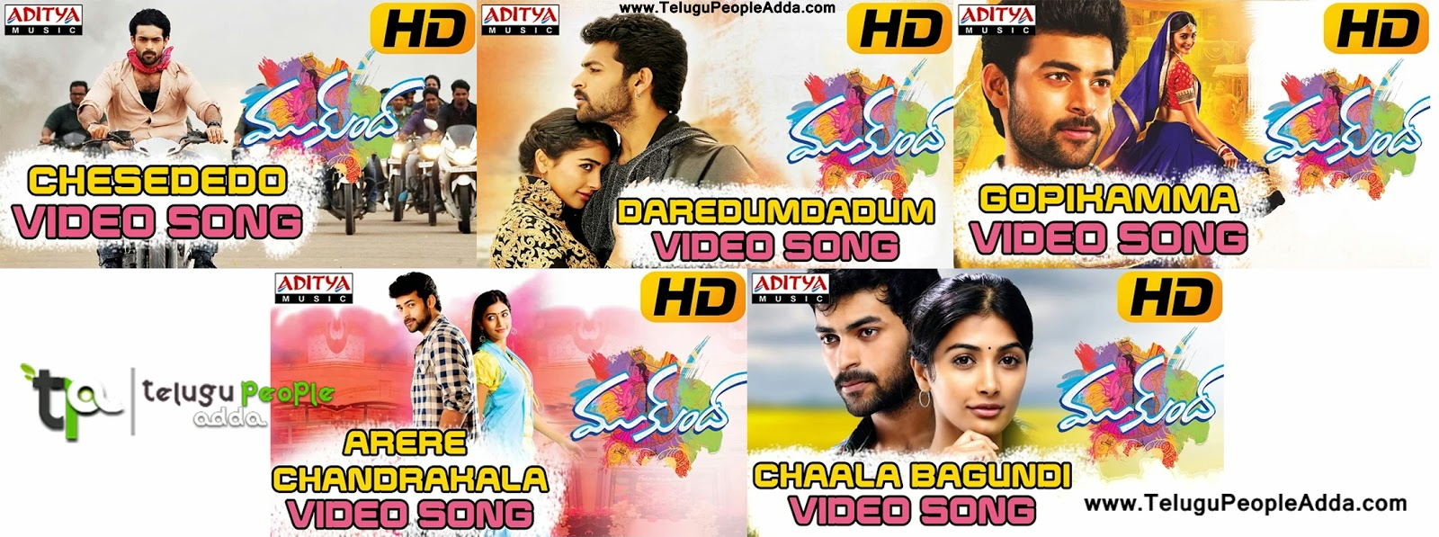 Mukunda Movie Full Video Songs