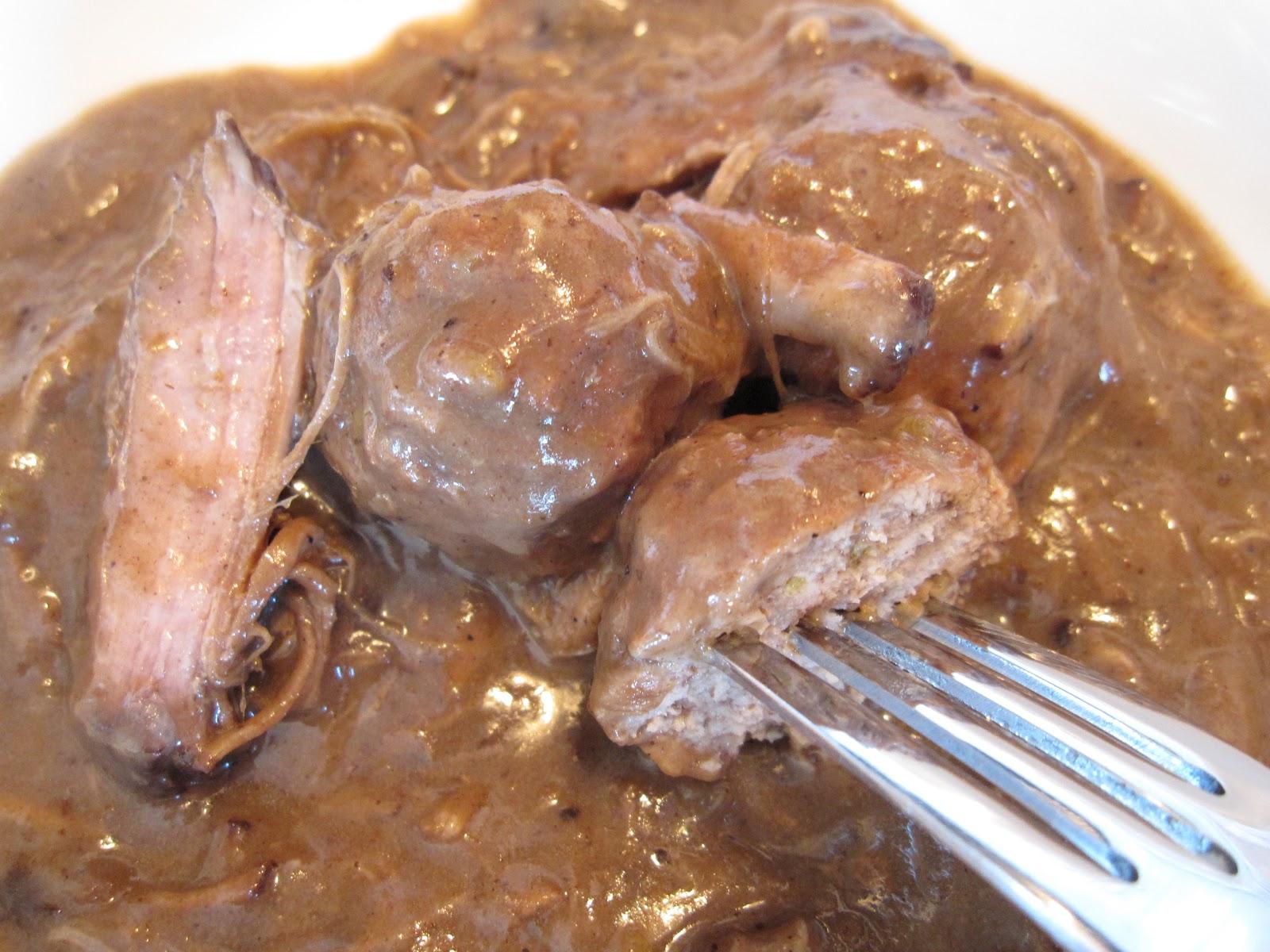 Pour le plaisir de manger rago t de boulettes et d 39 paule - Cuisiner epaule de porc ...