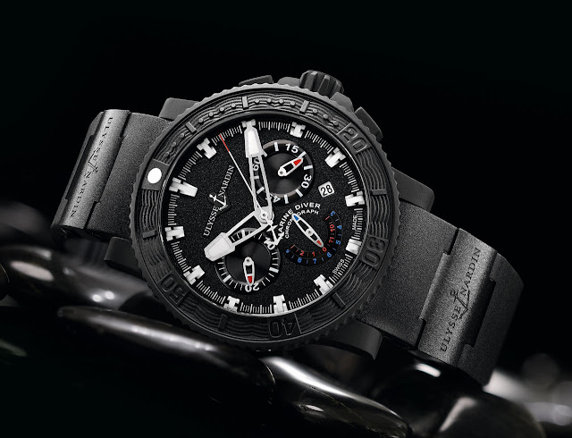 Ulysse Nardin - Black Sea Chronograph Watch