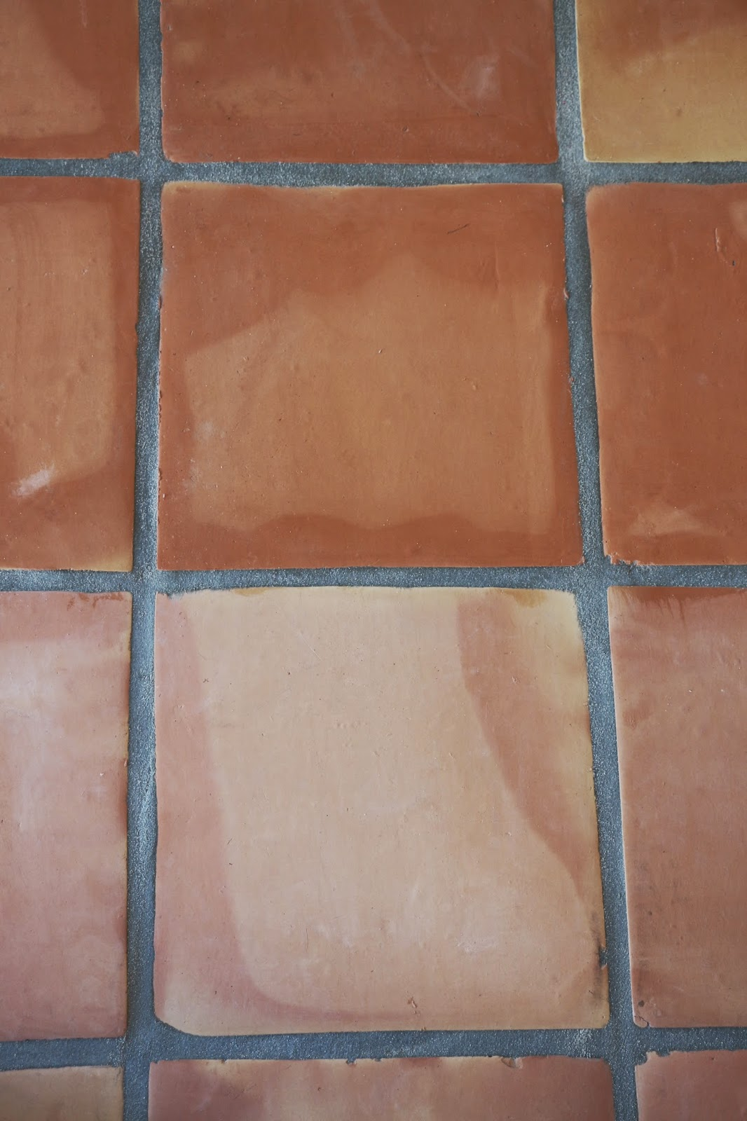 saltillo tile seal befor and after