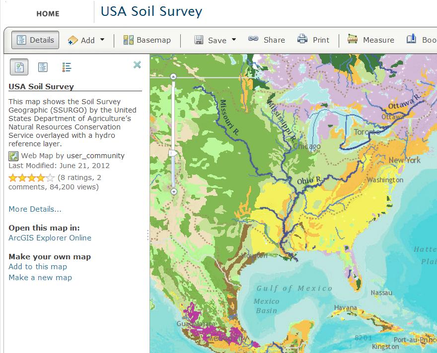 Geosinam 39 s blog got soil data some notes on esri 39 s for Soil web survey
