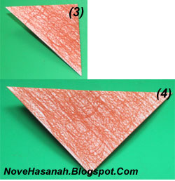 cara melipat kertas origami untuk membuat origami wajah beruang. Origami wajah beruang ini sangat cocok untuk diajarkan untuk anak-anak yang duduk di kelas rendah (1, 2, dan 3) SD. 2