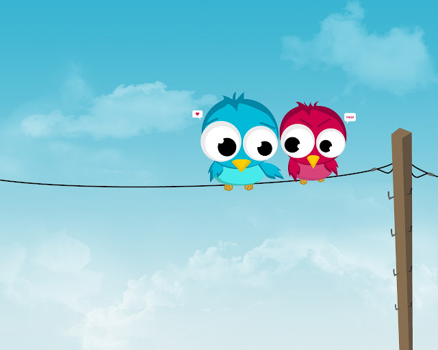 Best Jungle Life birds in love, love wallpapers, birds on a wire
