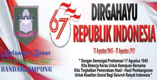 Dirgahayu RI 67Th
