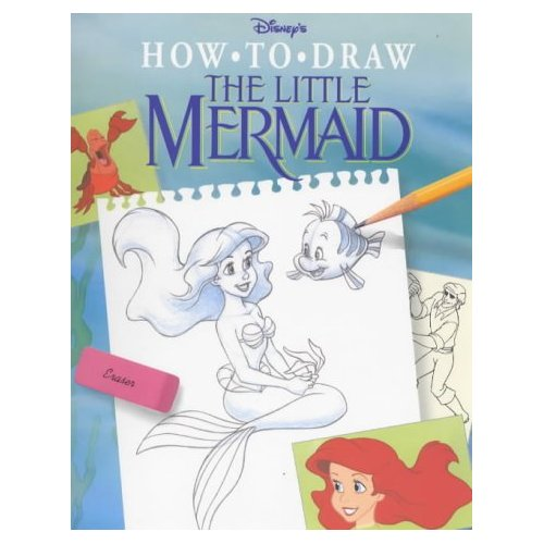 how to draw the little mermaid ursula
