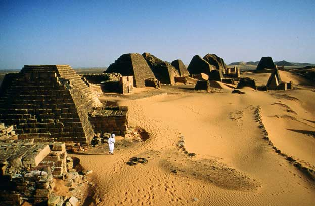 Archaeological Sites of the Island of Meroe Sudan