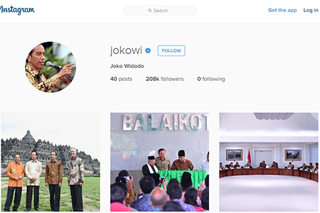 Presiden Gaul Akhirnya Mempunyai Akun Instagram Resmi http://instagram.com/jokowi