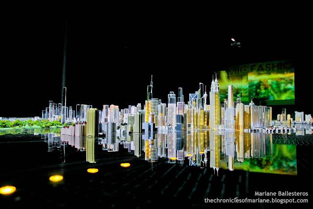 Kuala Lumpur City Gallery scale model