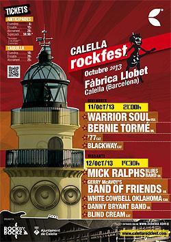Warrior Soul, Bernie Torme, Mick Ralphs y Gerry McAvoy al Calella RockFest 2013