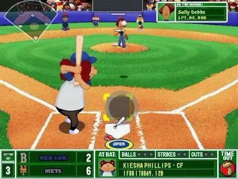 Attractive Backyard Baseball 2003 Game